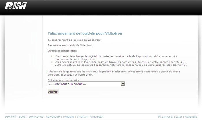 Blackberry desktop software download.