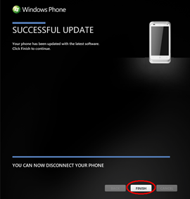Windows Phone 7 8 update available for the HTC Radar 4G